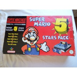 Super Nintendo 5 Star Pack