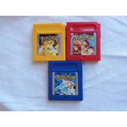 3 Pokemon Games