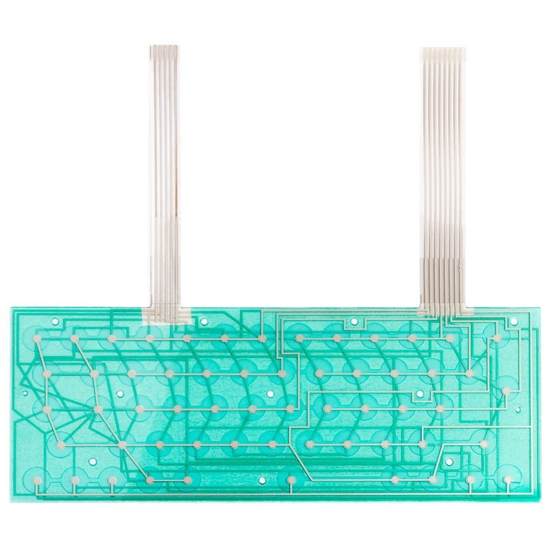 Spectrum keyboard membranes
