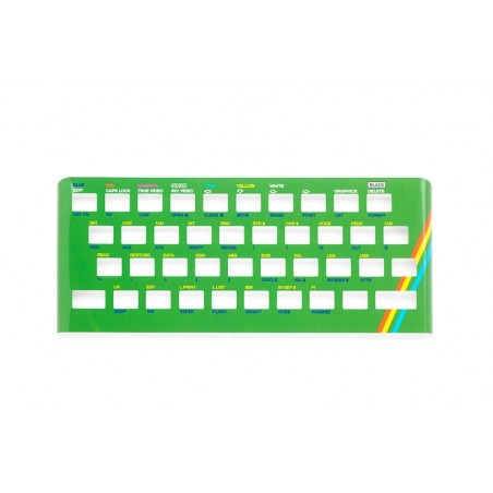 Chapa metálica teclado Spectrum