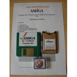 4GB. Hard Disk, Amiga 600. Workbench 2.1