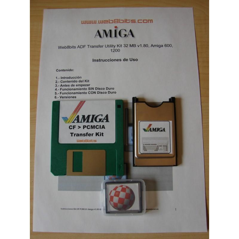 4GB. Hard Disk, Amiga 600. Workbench 2.1