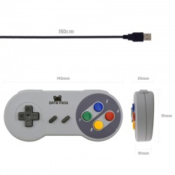 Mando Pad USB tipo Super Nintendo