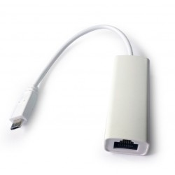 Adaptador microUSB Ethernet