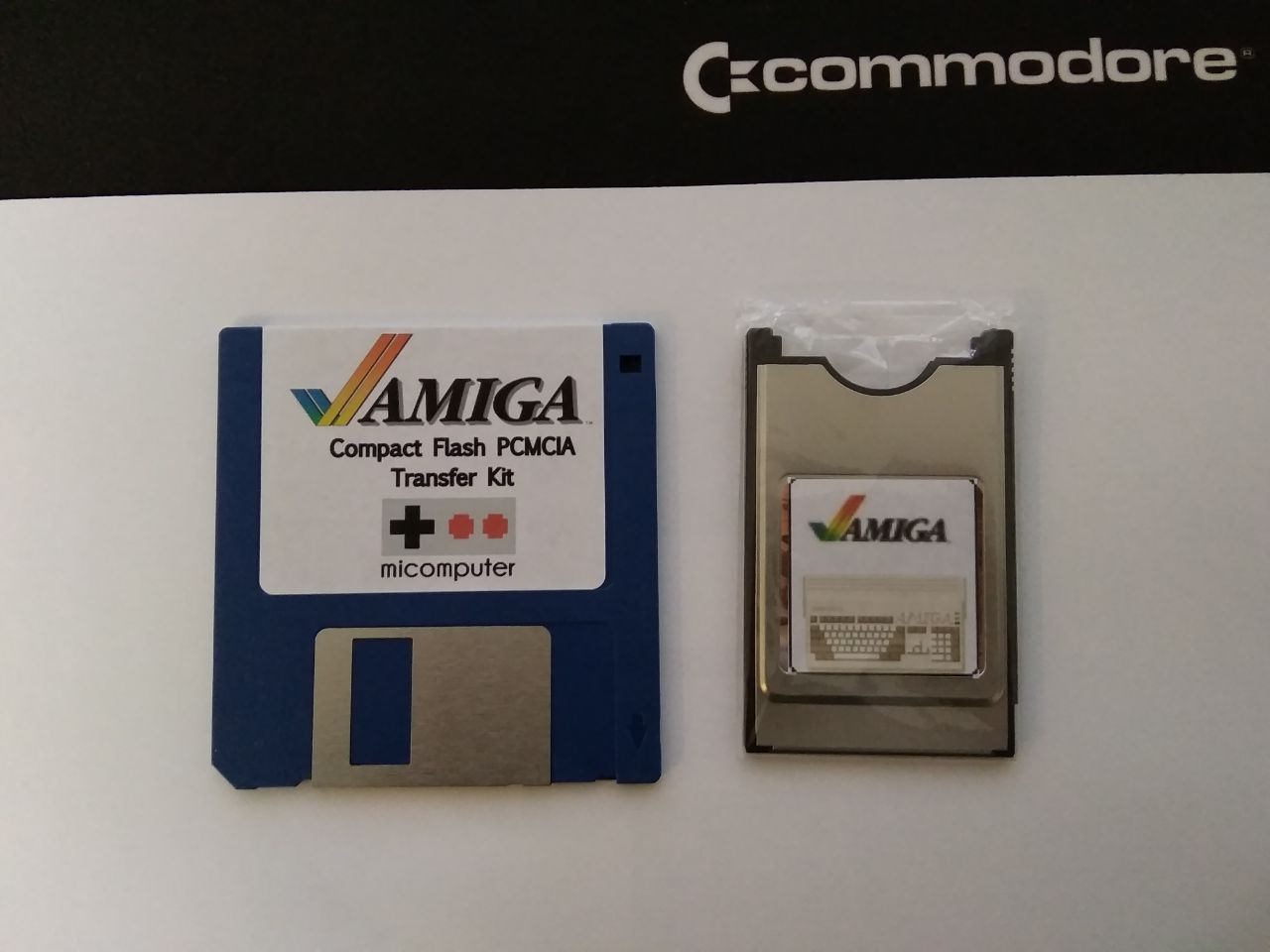 Amiga adf pcmcia transfer kit
