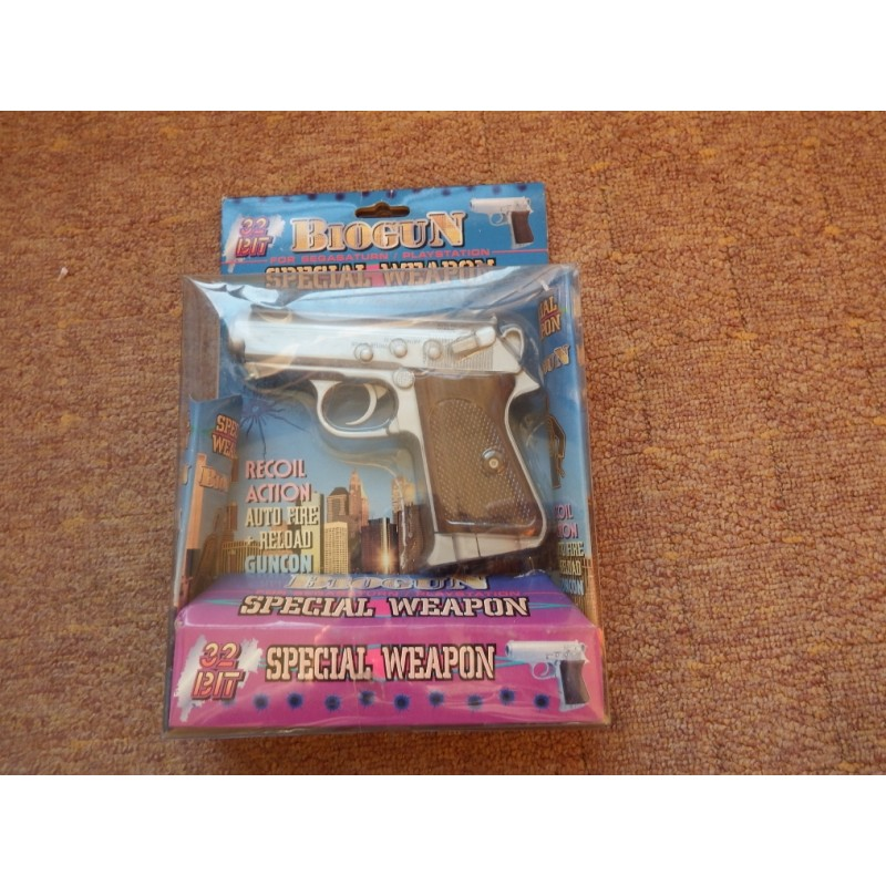 Pistola Sega Saturn