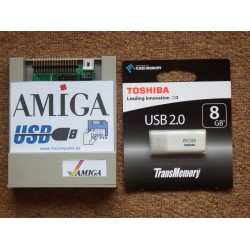 8 GB USB Gotek Amiga Floppy Emulator