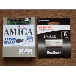 Gotek Amiga USB 8 GB emulador disquetera