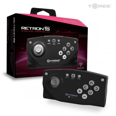 Retron 5 Black Wireless Controller