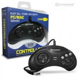 Mando Pad tipo Sega Megadrive, Genesis, USB para PC o Mac
