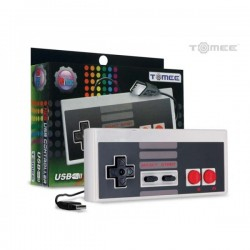 Mando Pad tipo Super Nintendo, Famicon, USB para PC o Mac