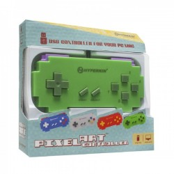 USB PC Mac controller, Pixel Art Red