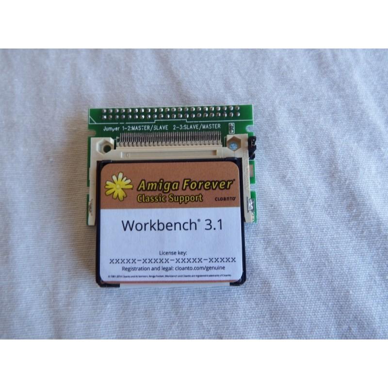 4GB Amiga 1200 Workbench 3.1 Hard Disk. 1500 Games