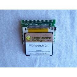4GB. Hard Disk, Amiga 1200. Workbench 3.1