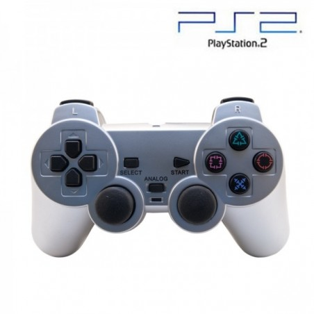 Mando Pad PlayStation Plateado