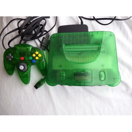 Nintendo 64 Edición Jungle Green