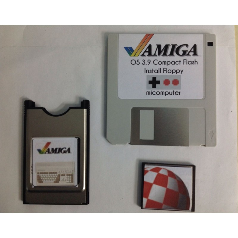 Amiga OS 3.9 Compact Flash 2 GB Install